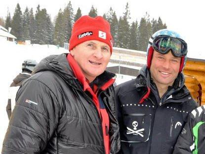 Hannes Trinkl und Werner Senn, zwei Aspen-Sieger