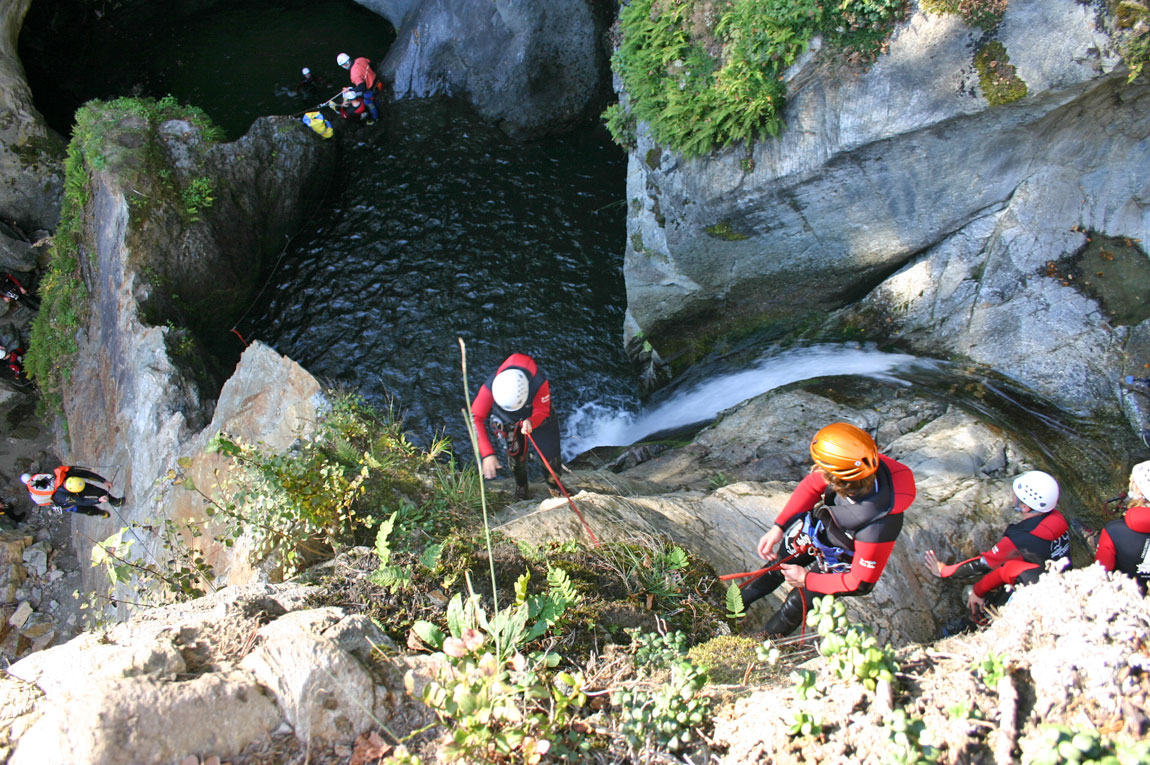 Canyoning Ötztal Tirol © Feelfree