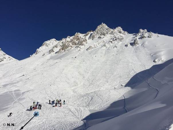 Lawinenabgang Schindlerhänge (c) LWD Tirol