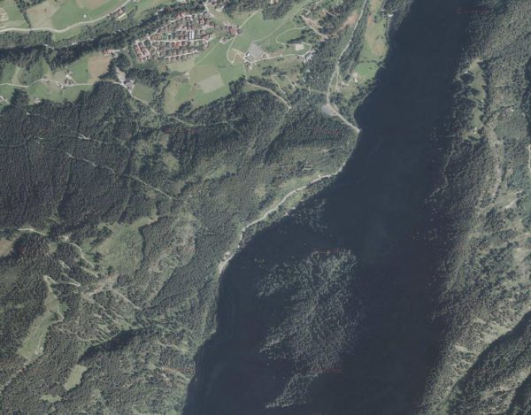 Zemmschlucht Orthofoto © tiris/ASI-Tirol