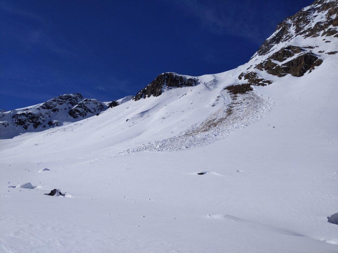 Schneebrett Rifflsee