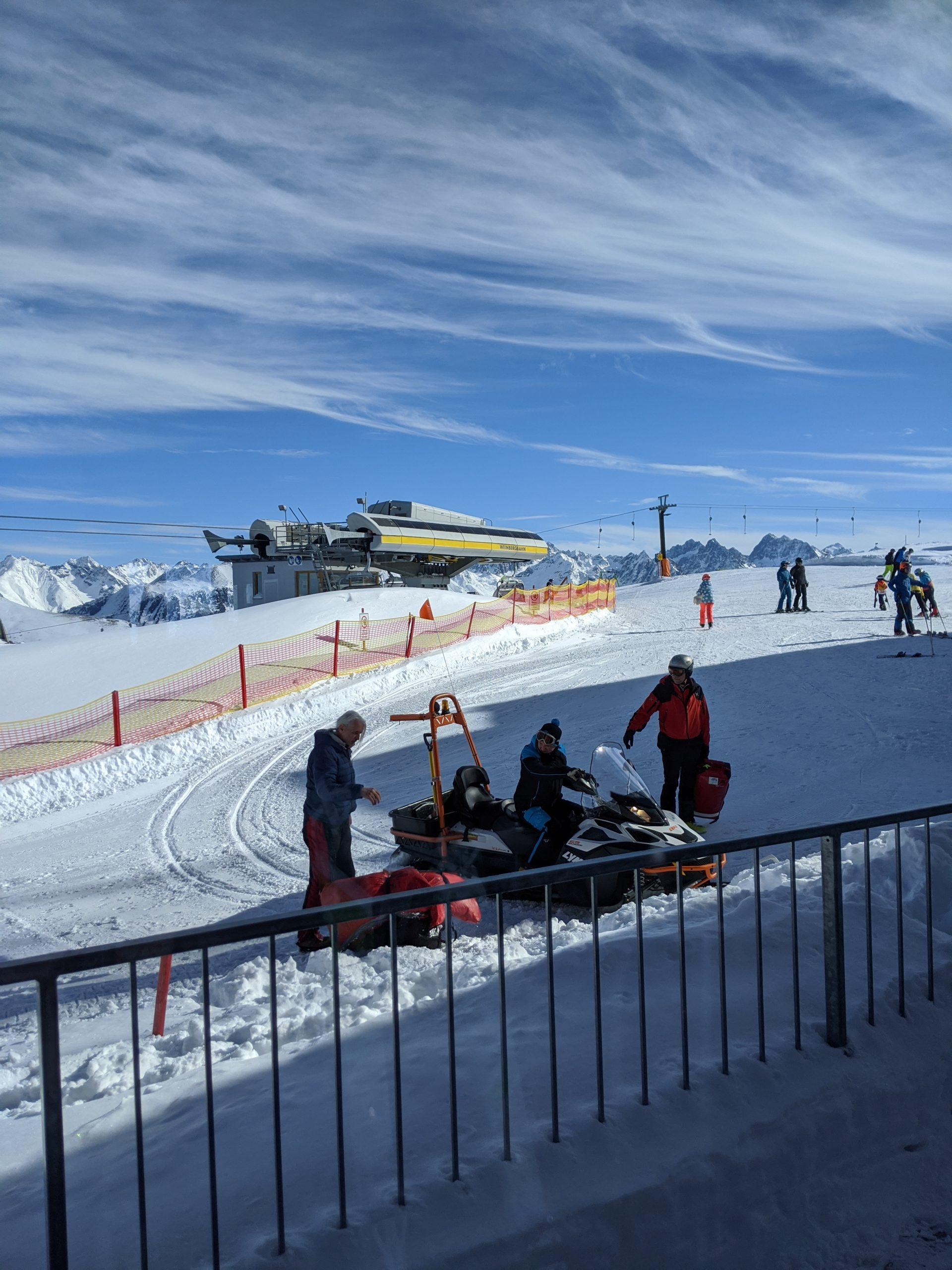 Skirecht: Richtlinien für Motorschlitten auf der Piste
