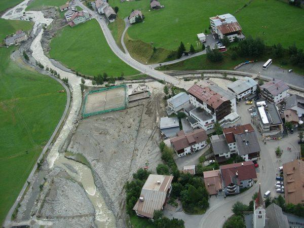 Galtür Hochwasser 2005